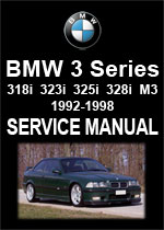 BMW E36 3 Series Workshop Manual